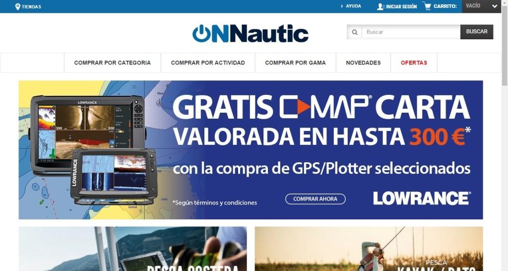 onnautic web electronica nautica